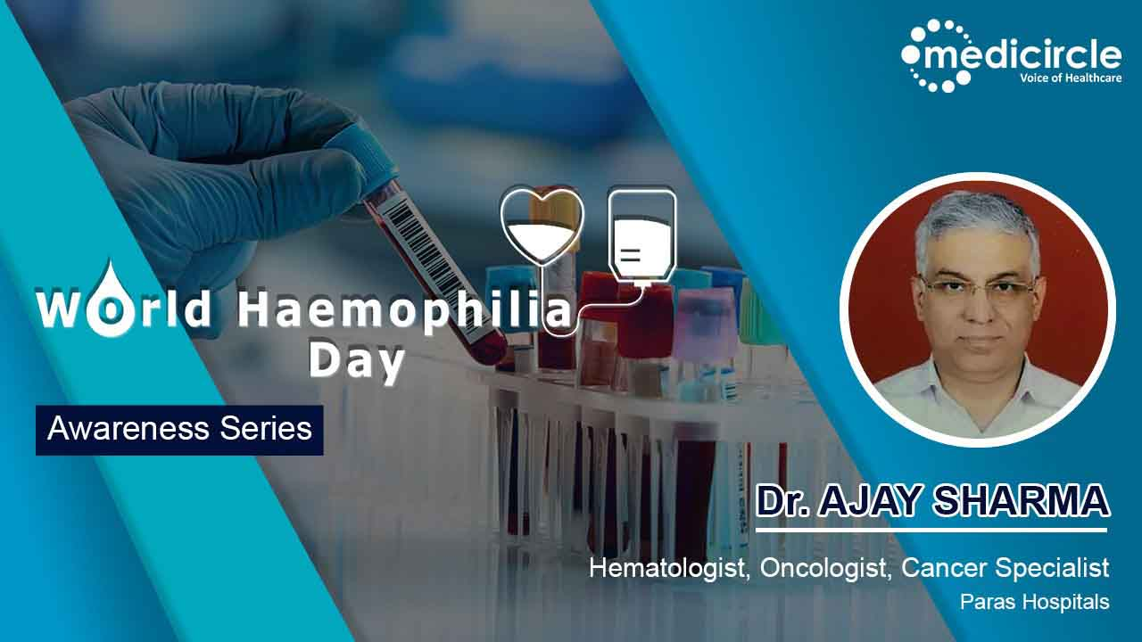 Dr. Ajay Sharma provides an overview of Haemophilia