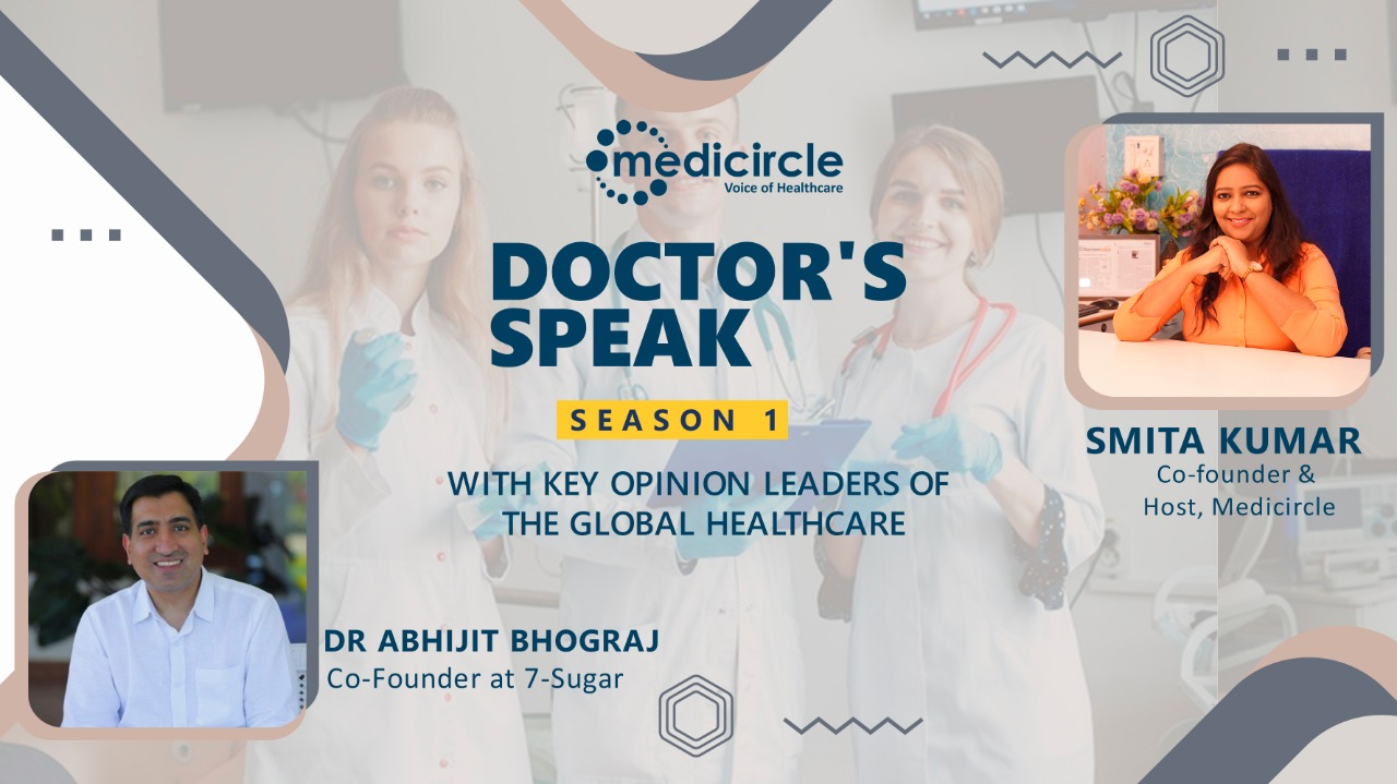 '50 – 60% of the population have uncontrolled blood sugar' says Dr. Abhijit, Co-founder, 7 Sugar
