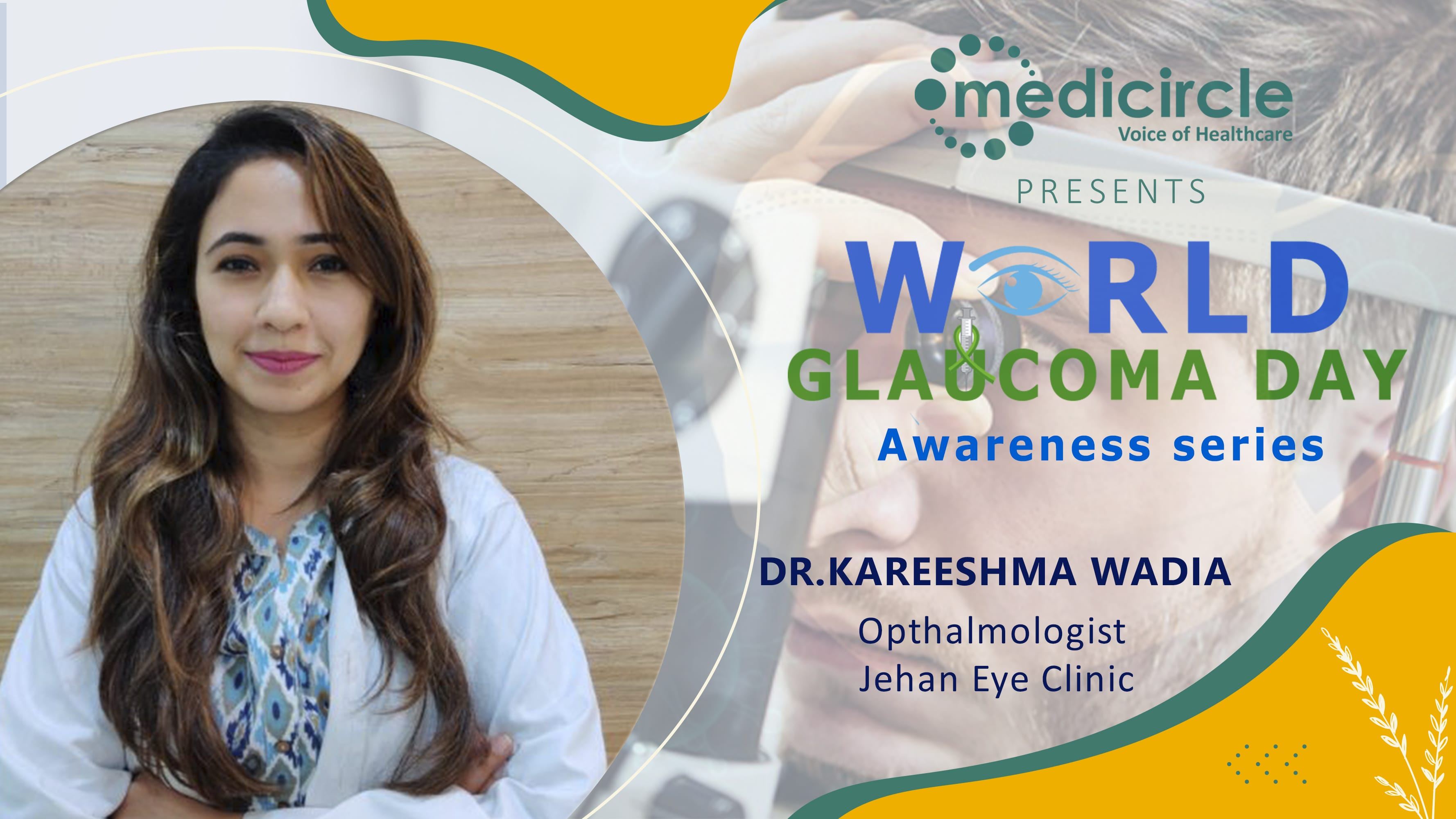 Glaucoma is controllable but the damage is not reversible