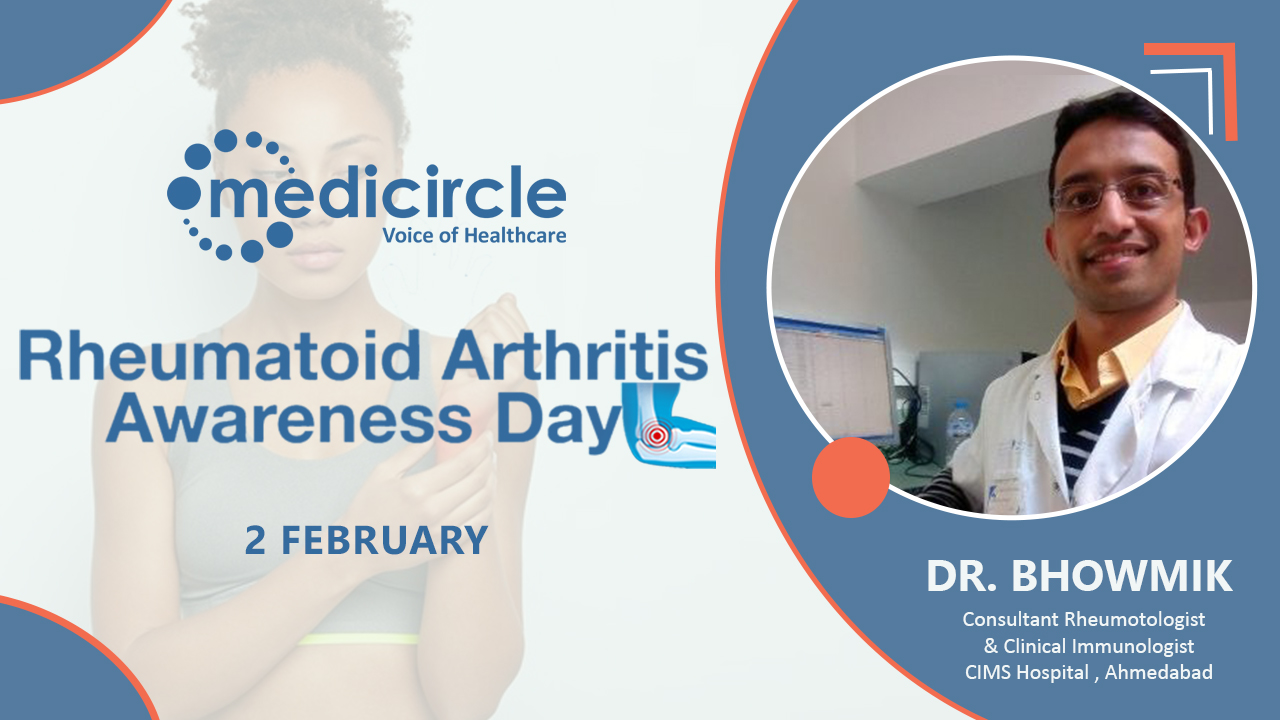 Rheumatoid Arthritis is Controllable and You can Lead a Normal Life with it says, Dr. Bhowmik
