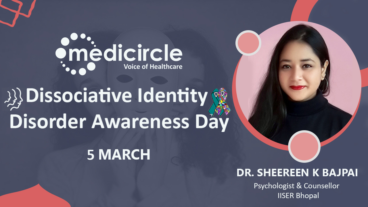 """Reframe your thoughts to prevent Dissociative Identity Disorder (DID)"" by Dr. Sheereen K Bajpai"