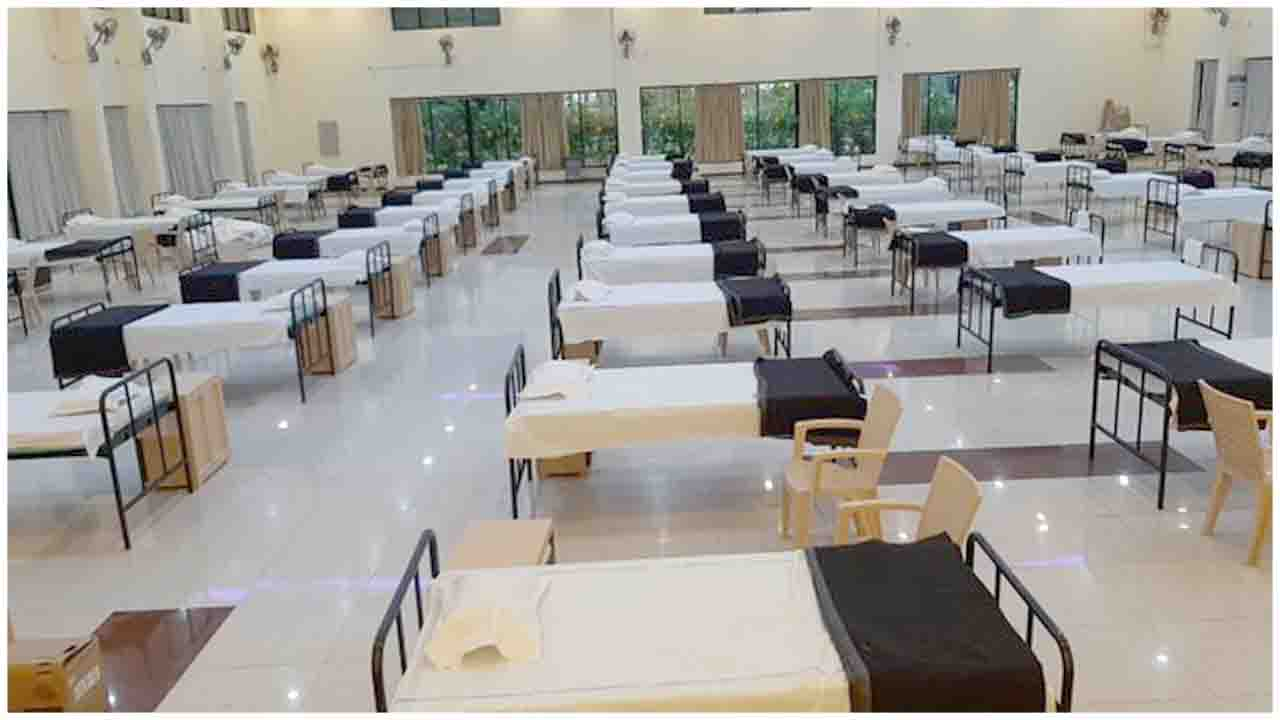 A 100 bed COVID Care Centre to cater serving  retired employees and their families has been setup at Rail Wheel Factory (RWF) community hall 'Utsava' at Bangaluru.