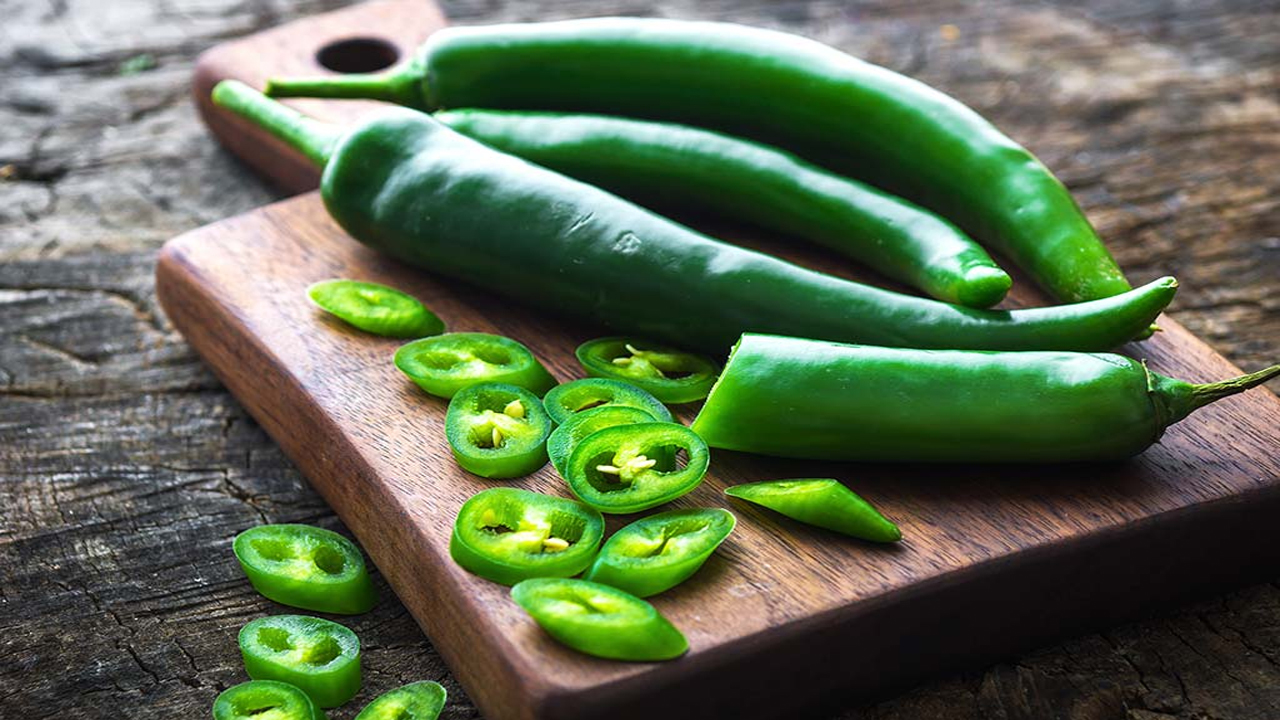3 Benefits of Green Chillies