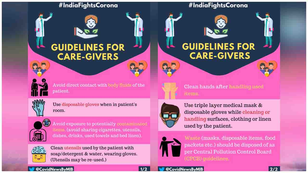 Checkout these safety Guidelines for Care-Givers
