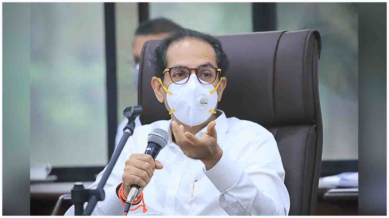 CM Uddhav Balasaheb Thackeray chaired a review meeting to evaluate COVID-19 control measures in the Navi Mumbai Municipal region & Kalyan-Dombivli Municipal region today.