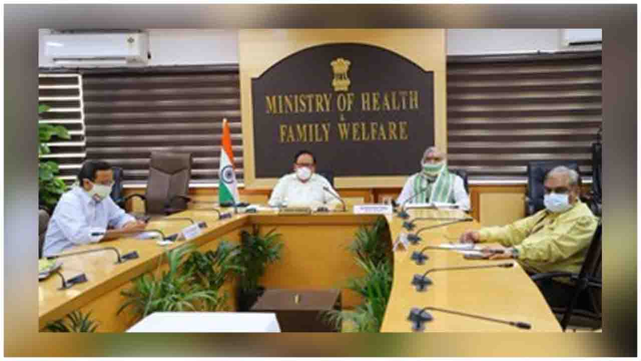 Dr, Harsh Vardhan reviewed tht current status of COVID-19 in India via Video conference