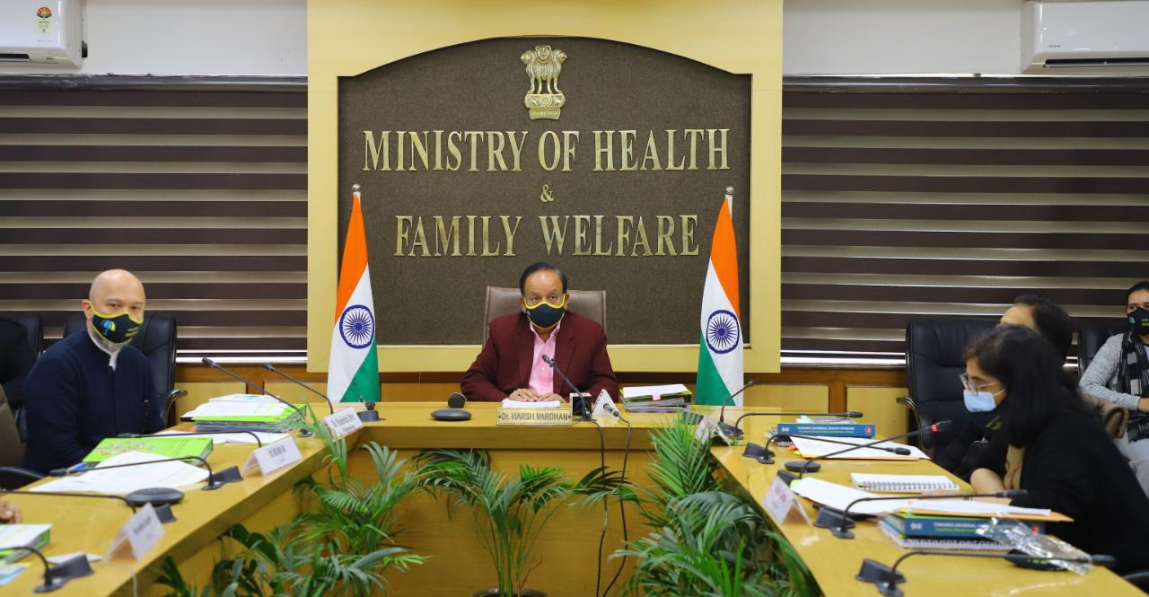 Ensuring #HealthForAll is the topmost priority of our Govt. On #UHCDay2020, Dr. Harshvardhan was seen to preside over a virtual event highlighting the efforts towards this cause