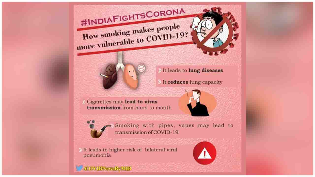 How smoking makes people more vulnerable to COVID-19?