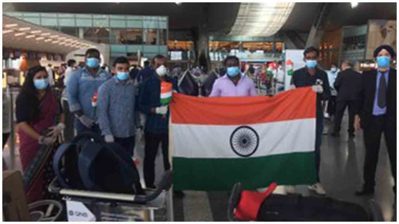 Indians getting ready to fly back from Doha express love for the Nation