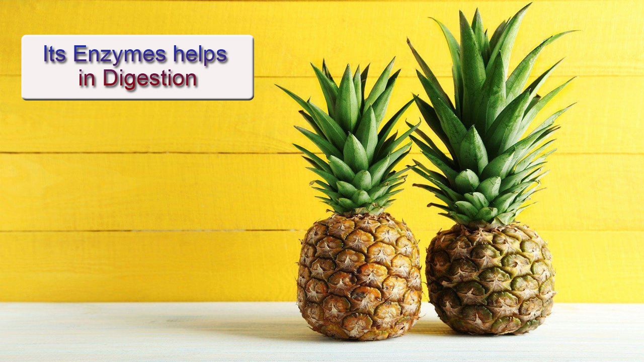 5 BENEFITS OF PINEAPPLE