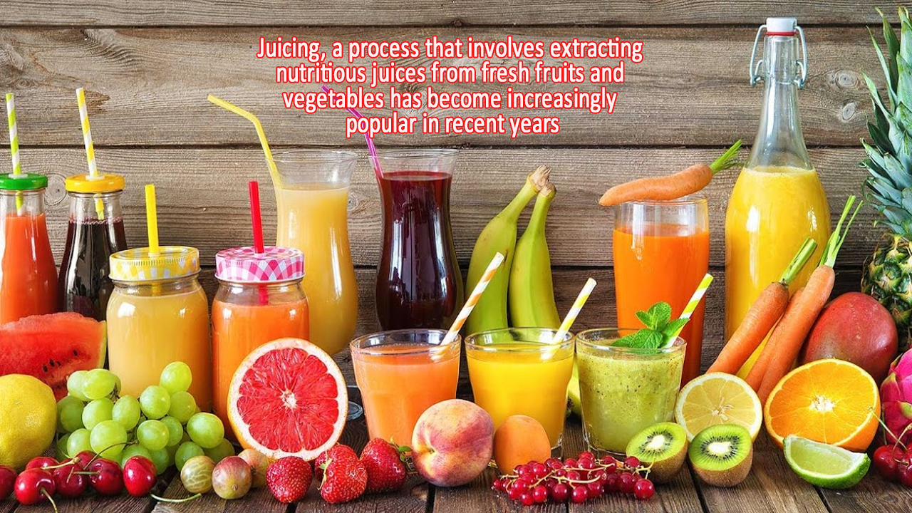 Looking for better results with your health! Try Juicing