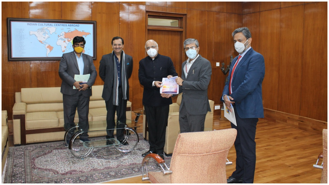 Ministry of AYUSH and ICCR today resolved to streamline and intensify the joint efforts to promote Yoga in various countries across the world.