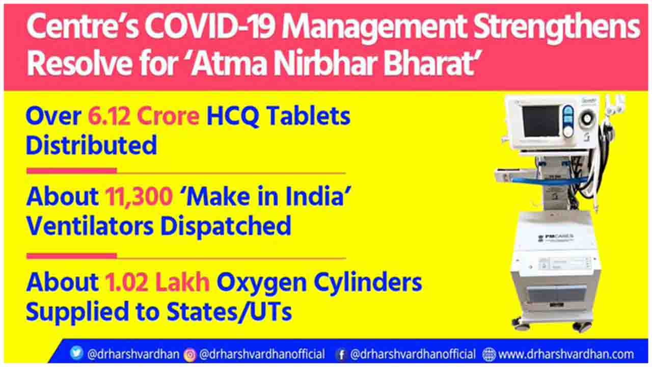 MoHFW_INDIA is also supplying 1.02 lakh oxygen cylinders across India; 72,293 delivered.
