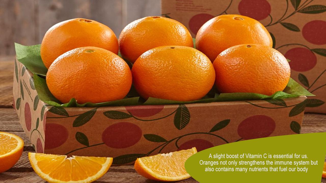Fuel your body with Healthy Oranges