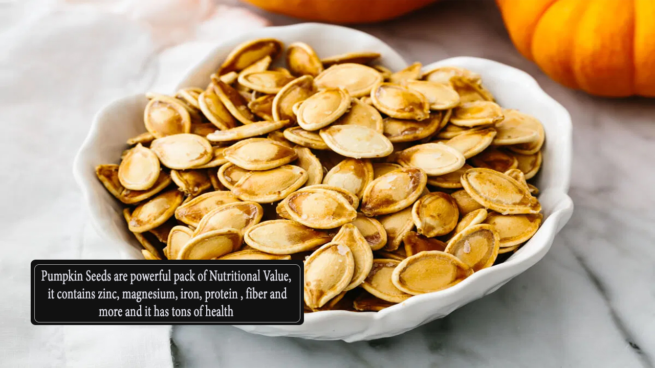 Nutritional Facts - Pumpkin Seeds