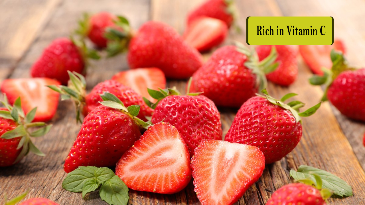 3 Benefits of Strawberries