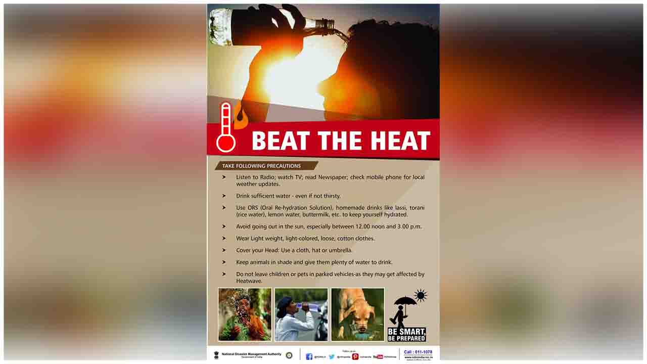 Take care of your health in this Intense heat, follow these tips