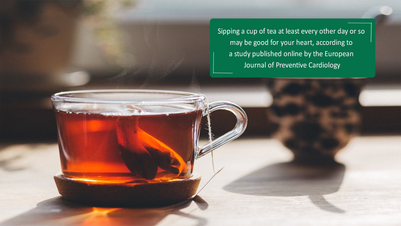 Good News for Tea Lover! Regular Tea is Good for Health