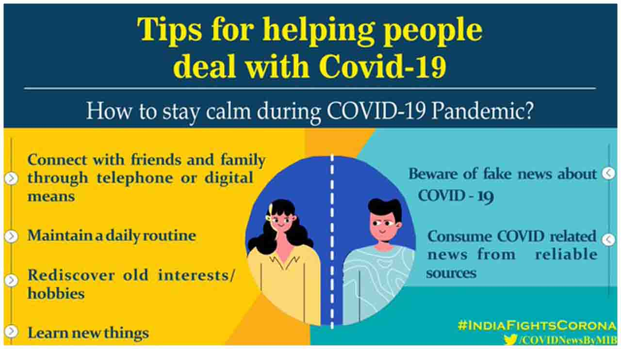 Tips for helping people deal with COVID19