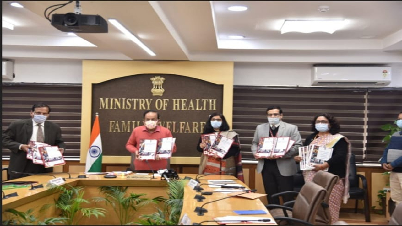 Union Health Minister  Dr. Harsh Vardhan  releases LASI Wave-1, India Report