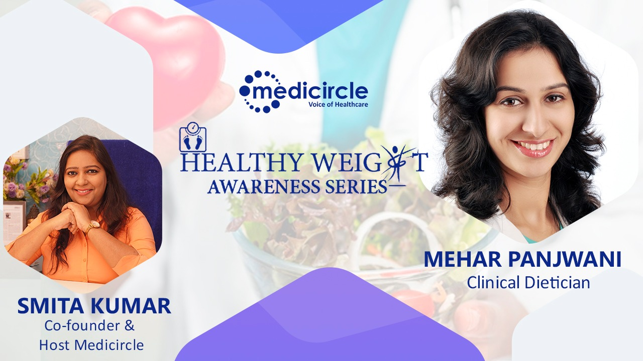 Muscle mass is heavier than fat mass says Mehar Panjwani, Dietician and Nutritionist
