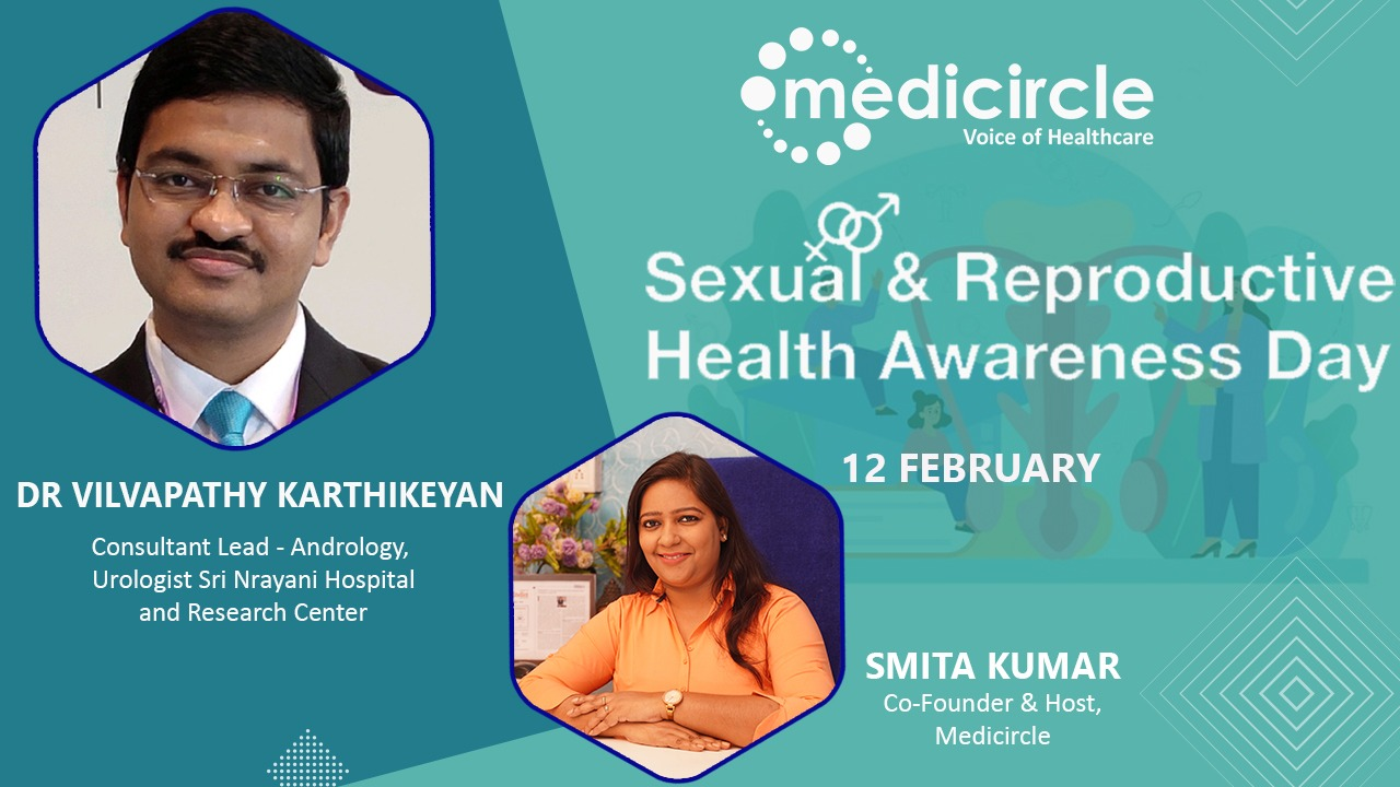 Dr. Vilvapathy Karthikeyan shares insights on Male Sexual Health Problems